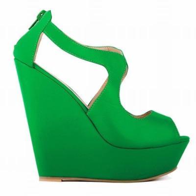 Large Size Open Toe Black Platform Sandals High Heels Clogs Wedge Female Shoe Comfort Shoes For Women Muffins shoe 2020 Women's