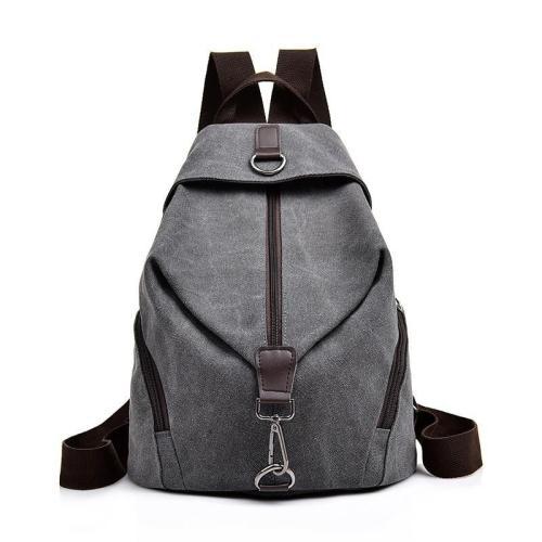 2020 Female Canvas Backpacks For Girls Sac A Dos School Bags For Girl Mochilas Casual Daypack Travel Shoulder Bag Women Backpack
