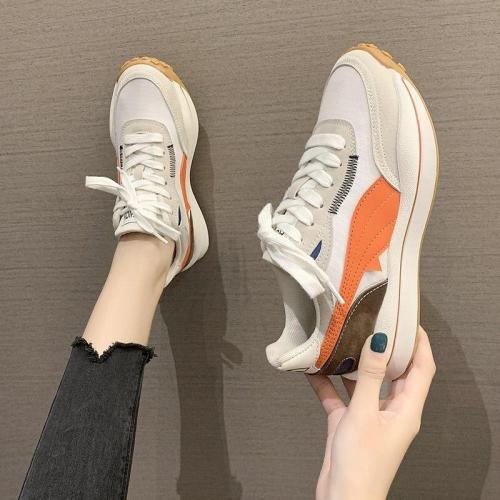 2020 Autumn Women Fashion Sneakers Brand Designers Chunky Casual Shoes Platform Woman Sport Vulcanized Shoes Ladies Shoes Flat