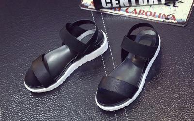 2020 Summer Sandals Women Flat Shoes Peep-toe Sandalias Rome Sandal Back Strap Woman Casual Shoe Ladies Flip Flops Footwear