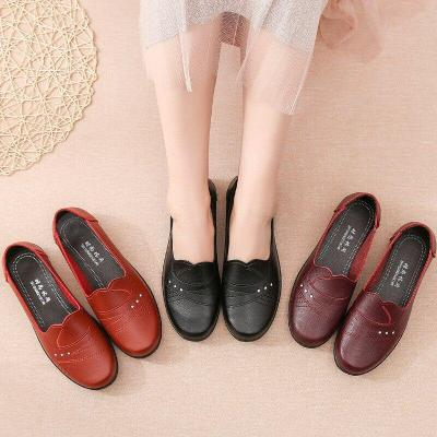 2020 New Women Flat Shoes Slip On Loafers Spring Autumn Women Flats Ballet Casual Sturdy Sole Nonslip Female Office Footwear