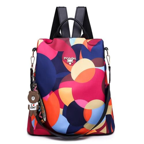 Anti Theft Travel Backpack Bags For Women Waterproof Oxford Female Bagpack Outdoor School Bags For Girls Ladies Shoulder-bag