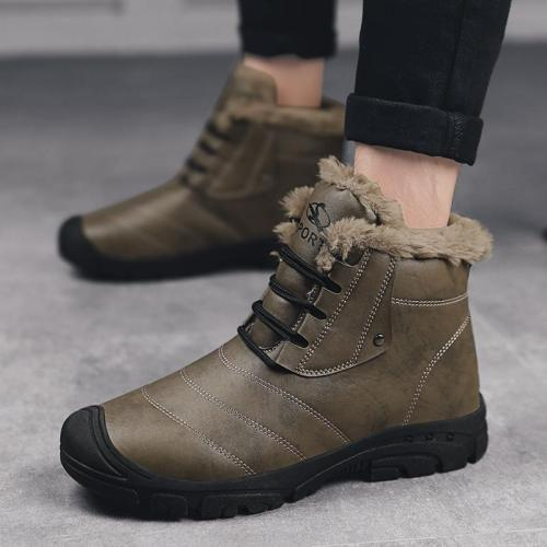 2020 Winter Large Size New Snow Boots To Keep Warm In The Fashion Men's Shoes Sports Boots with Velvet Comfortable Men's Boots