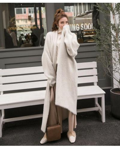 Women's Ladies Winter Clothes Warm Sweater Cardigan Open Front Long Sleeve Coat Outwear 2020 New Spring Streetwear