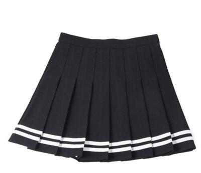 2020 high waist pleated skirts Kawaii Harajuku Skirts women girls lolita a-line sailor skirt Large Size Preppy school uniform