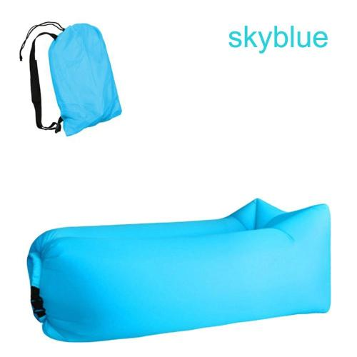 Camping inflatable Sofa lazy bag 3 Season ultralight down sleeping bag air bed Inflatable sofa lounger trending products 2020
