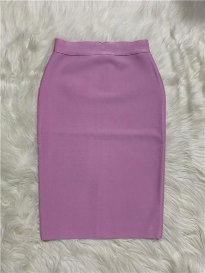 2020 New Bandgae Skirt Elegant  Pencil Skirt High Quality Celebrity Sexy Club Party Wear Vintage Vestios Woman Celebrity
