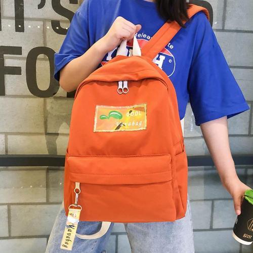Cute student backpack women school bags for teenage girl nylon luxury kawaii backpack holographic ladies fashion female bag book