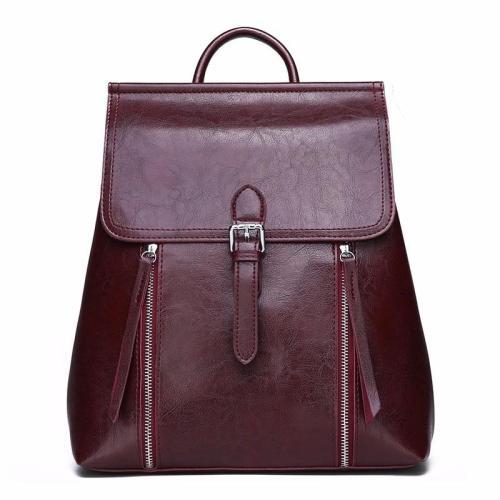 2020 Luxury Backpacks Women Designer Women Leather Backpacks High Quality Vintage Bagpack Ladies School Bags For Girls Mochilas