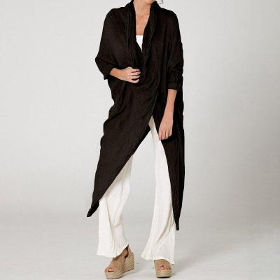 2020 Celmia Plus Size Women Tops and Blouses Vintage Long Shirt Casual Cowl Neck Long Sleeve Loose Asymmetrical Blusas Femininas
