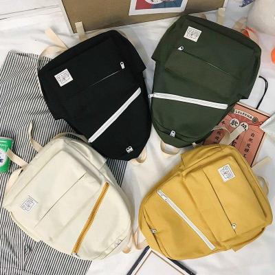 Ladies Canvas Cute Backpack Women School Bags For Teenage Girls Harajuku Backpacks Kawaii Female Fashion Bag Book Student Luxury