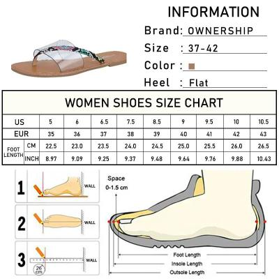 2020 Women Slippers New Summer Outdoor Flat Female Beach Woman Fashion Transparent Snake Pattern Ladies Wild Big Size Slides 42