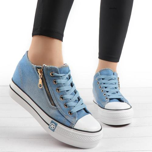 Fashion Sneakers Women Casual Canvas Shoes Tenis Feminino Comfy Ladies Vulcanize Shoes Lace Up Trainers Women Zapatos Mujer 2020