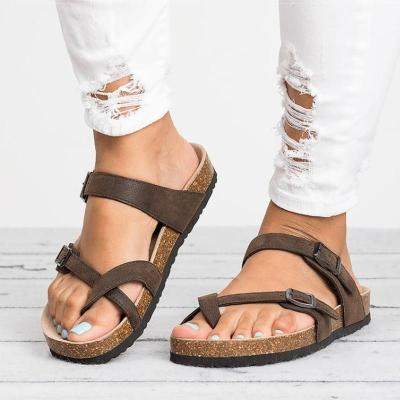 Women Sandals Rome Style Summer Sandals For 2019 Flip Flops Plus Size 35-43 Flat Sandals Beach Summer Zapatos Mujer Casual Shoes