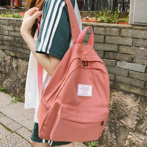 Fashion school bag girl Cute women backpack teenage harajuku Applique backpacks kawaii female Nylon Student book casual bag 2019