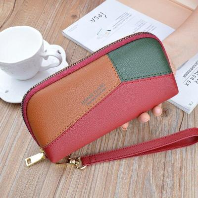 Geometry Women's Wallet Small Clutch Bag Phone Purses Female Purse Retro Lady Long Women Wallets Luxury Card Holder Hot Sale