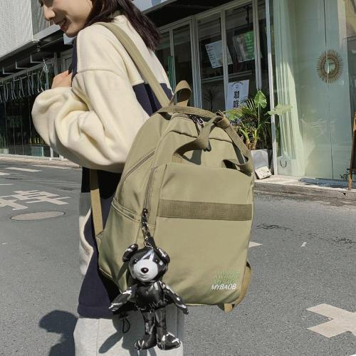Student Nylon Female Backpack Cute Women School Bag Teenage Girl Kawaii Backpack Harajuku Ladies Fashion Bags Luxury Book Travel