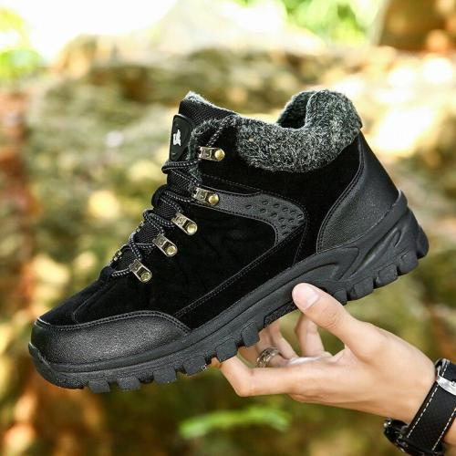 2020 Winter New Warm Snow Boots Men's Casual Fashion Comfortable Plus velvet to keep warm Fashion Sneakers Men Shoes