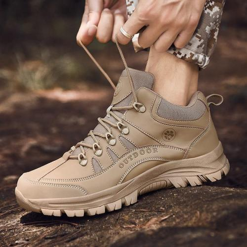 Men's boots casual Outdoor ankle shoes Gives you Water-proof Protection stability Underfoot comfort Classic lace-up Keep Warm