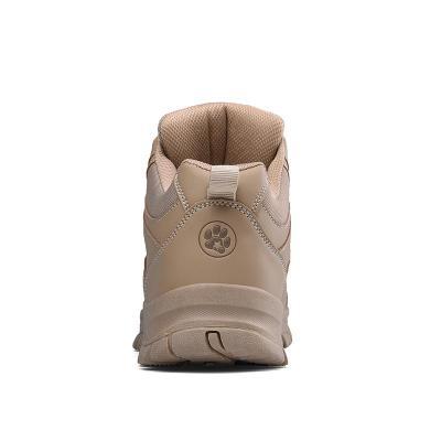 2020 Autumn Winter Combat Men High Top Toe Cap Anti Smashing Work Boots Men Safety Shoes Waterproof non-slip work shoes