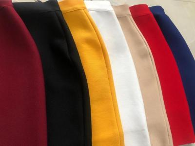 Wholesale Free Shipping Candy Color Sexy Mini Bandage Skirt 2020 Designer Pencil Skirt Faldas 43cm