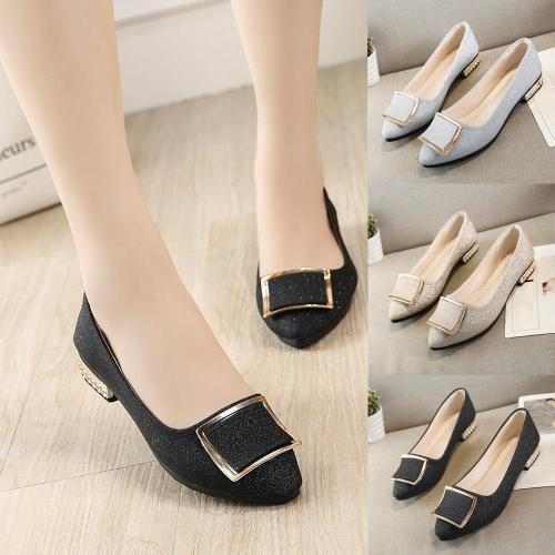 Women Flats Shallow Candy Color Shoes Woman Loafers Square Fashion Sweet Flat Casual Comfortable Plus Size #T10G