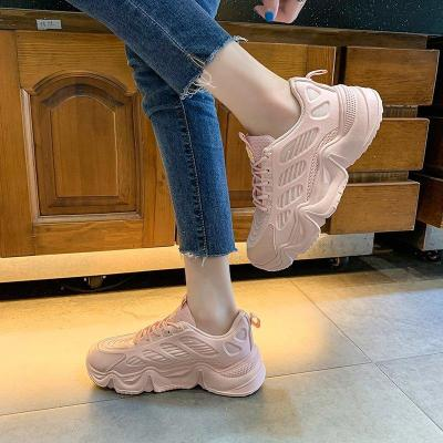 Dropshipping Sneakers New Chunky Shoes Woman Air Mesh Platform Sneakers Womens Casual Shoes Tenis Feminino Zapatos Mujer Shoes
