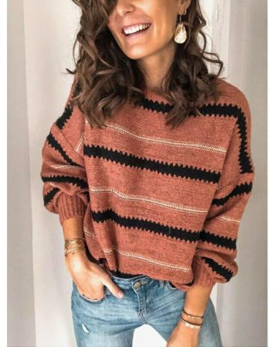 Hot 2020 Fashion Women Sweaters Autumn Casual Clothes Long Sleeve Knitwear Jumper Knitted Sweater Loose Pullover Coat Outwear