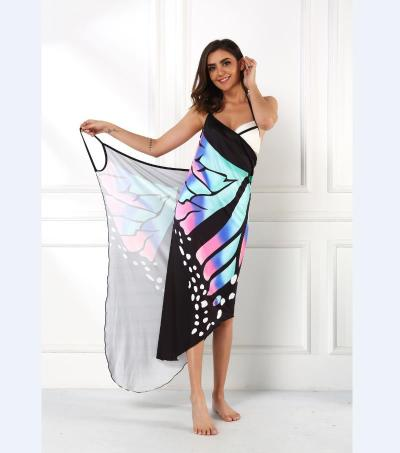 2020 Sexy Colors Women Summer  Printing Sexy Comfortable Fashion Dress Women Knee-length Cover ups Beach  Dresses