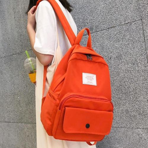 Fashion Waterproof Nylon Backpack Kawaii Women Student School Bag Teenage Girl Cute Backpacks Female Luxury Book Bags Ladies New