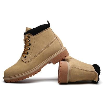 Men Shoes Fashion New Winter Male Casual Boots Fashion Retro Warm Plus Velvet Ankle Booties High Quality Winter Men Booties