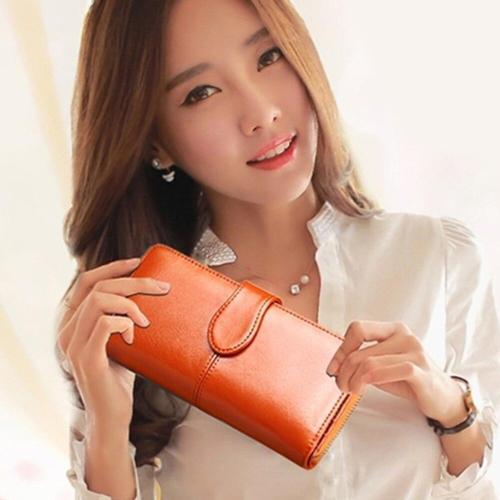long wallet for women brands purse money bag new designer high-capacity card holder coin bag female