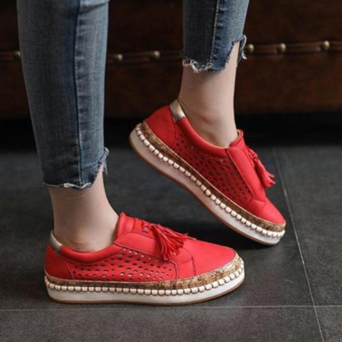 Sneaker Women Casual Shoes Fashion Breathble Lace-up Women Vulcanized Shoes Flat Platform Female Sneaker Zapatillas Mujer VT467