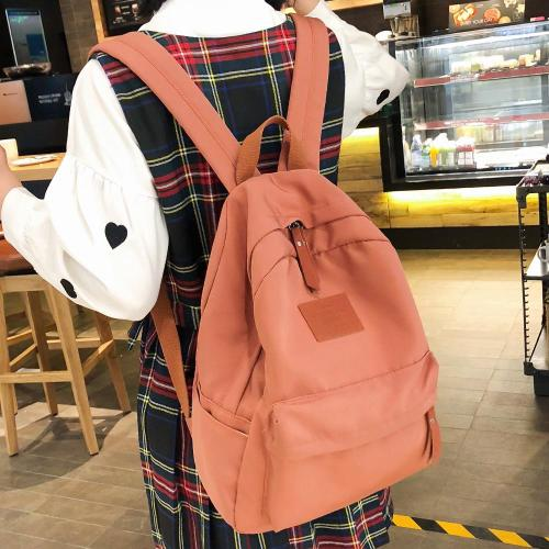 Student Female Fashion Backpack Cute Women School Bag Girl Waterproof Nylon Kawaii Backpack Ladies Luxury Teenage Bag Book Brand