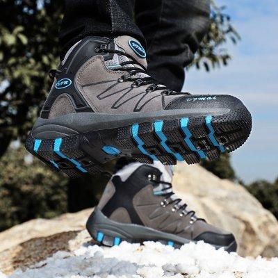 Men Winter Boots for Men Warm Waterproof Rain Boots Shoes Non Slip Men's Ankle Snow High Top Boots 2020 New Arrival