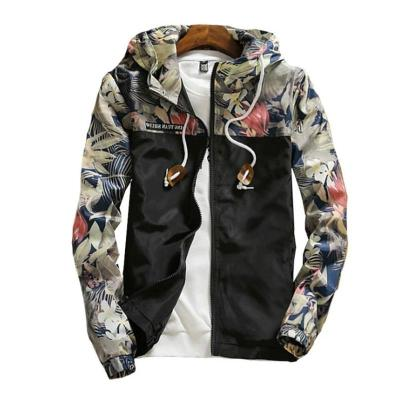 Print Bomber Jacket Women Flowers Zipper Up Retro Coat Spring 2020 Summer Long Sleeve Basic Plus Size Short Biker Jackets Female