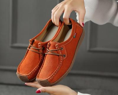 Summer  Women shoes loafers 2019 New fashion comfortable flats women shoes solid lace-up square Toe shoes woman zapatillas mujer