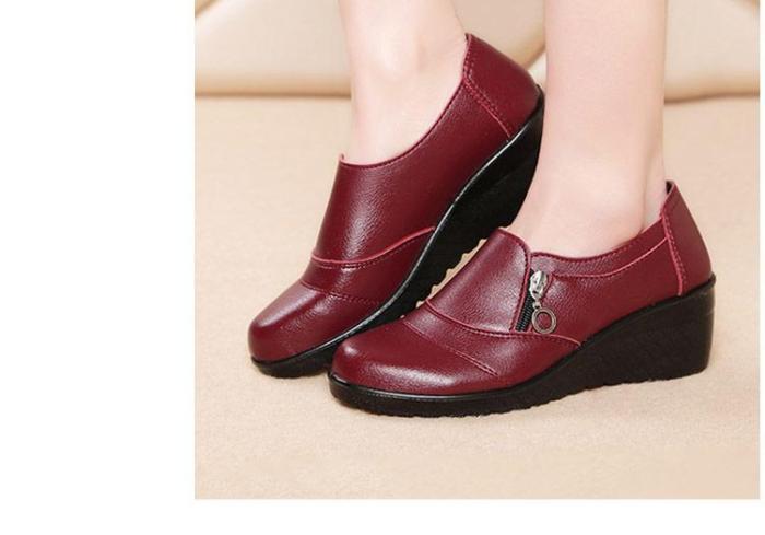 Platform woman shoes 2019 spring superstar adult women flats shoes shallow leather flats women sapatos feminino