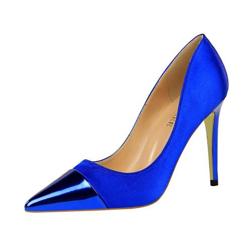 Female Dress Shoes Women New Arrival 2019 Pumps Designer Heels Wedding Shoes Sexy Silk Pink Shoes G0010