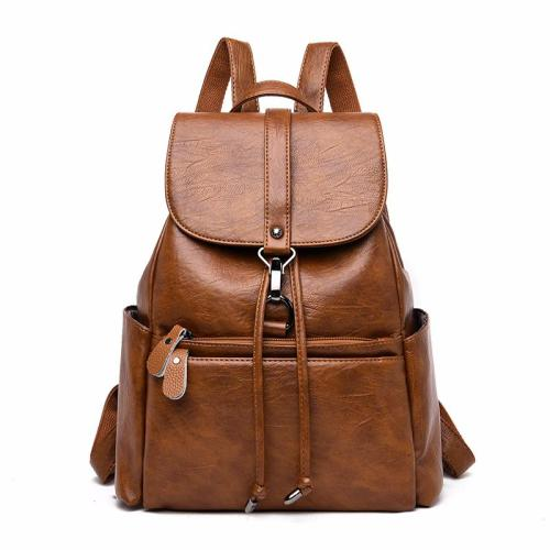 New 2020 Women Leather Backpacks Large Capacity Travel Bagpack Sac A Dos Female Leather Backpacks For Girls Back Pack Vintage