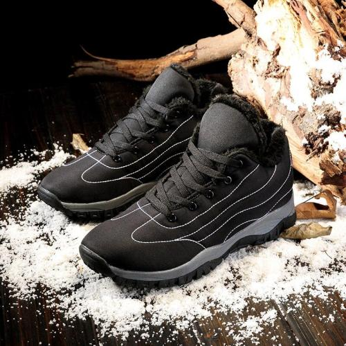 Sneakers Male Shoes Adult Casual Quality Rubber Ankle Warm Boots Couple 2020 Fashion Winter With Fur Snow Boots For Men