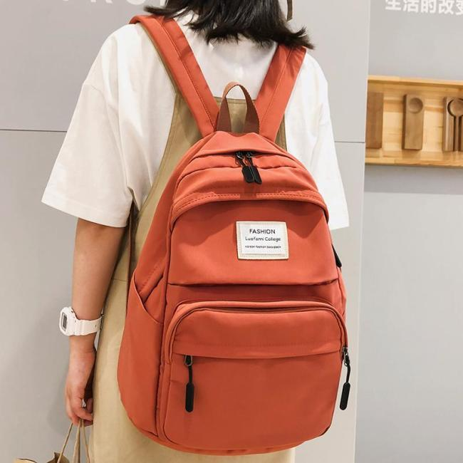 Female Fashion backpack Waterproof women school bags for teenage girls nylon ladies backpack Student kawaii luxury bag Cute book