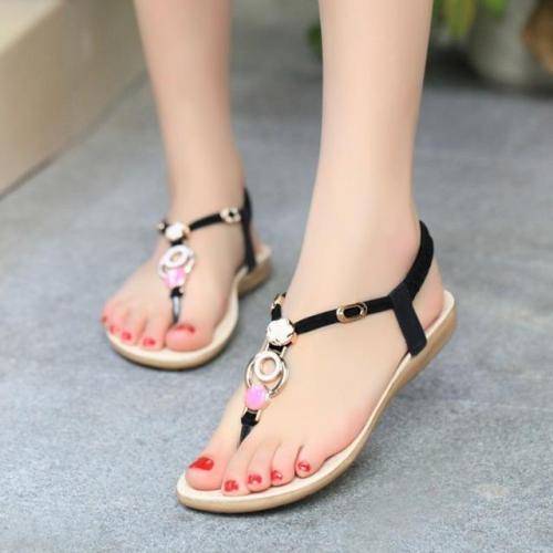 Women sandals 2020 comfort sandals women Summer Classic fashion flat women shoes Ladies beach summer shoes women 36-40