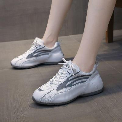 2020 Autumn Women Platform Sneakers Ulzzang Chunky Vulcanized Shoes Woman Fashion Round Toe Casual Shoes Running Trainers Flats