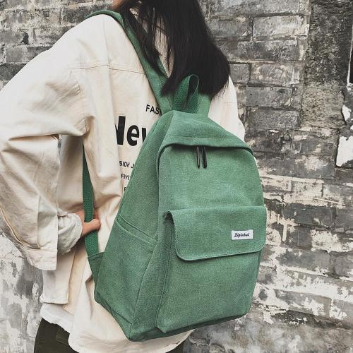 Student Female Kawaii Backpack Canvas Women Vintage School Bag Teenage Girl Cute Backpack Fashion Ladies Luxury Bags Cotton Book
