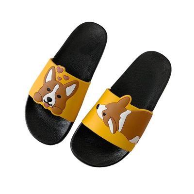 Women Summer Sandals Ladies Light PVC Leather Dog Slipper Female Indoor Bathroom Non Slip Shoes Woman Platform Slippers