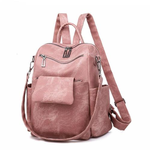 Detachable Backpack Bags For Women PU Leather Female Travel Bagpack Large Capacity Shoulder-bag Ladies Backpack