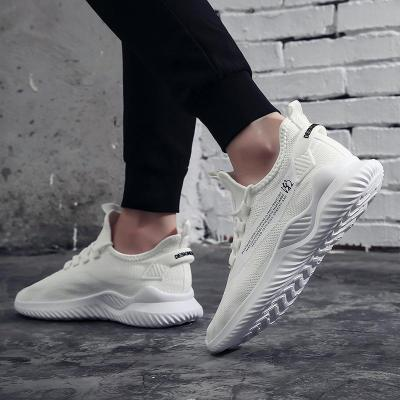 men Vulcanize shoes casual man Breathable Casual Sports tenis shoes trainers Flying Woven flat board shoes mens fashion sneakers