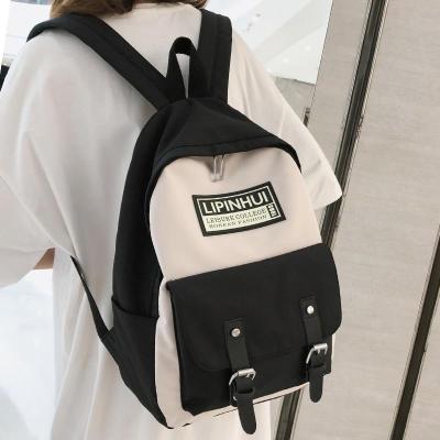 Waterproof Nylon Buckle Backpack Cute Women Fashion School Bags For Teenage Girl Kawaii Backpack Harajuku Female Bag Lady Luxury