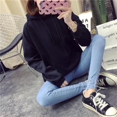 Sweatshirts Women Pink Women's Gown With A Hood Hoodies Ladies Long Sleeve Casual Hooded Pullover Clothes Sweatshirt